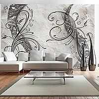 murando - Fototapete Abstrakt 150x105 cm - Vlies Tapete - Moderne Wanddeko - Design Tapete - Wandtapete - Wand Dekoration - Blumen Blumenmotiv a-A-0036-a-a