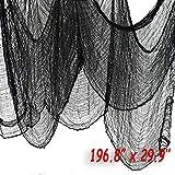 QIMMU Halloween Creepy Cloth, Halloween Scary Ghost Hanging Decorations, Flying Ghost Outdoor, Indoor, Yard,...
