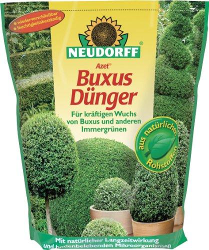 """Preisvergleich Produktbild Buxusdünger """"Azet®"""" NEUDORFF BUCHS- DüNGER 1, 75KG 1204"""