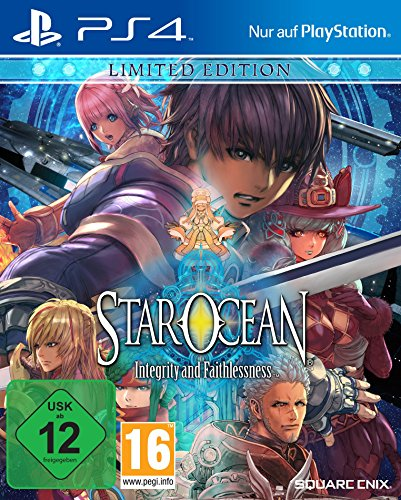 Star Ocean: Integrity And Faithlessness - Limited Edition [Importación Alemana]