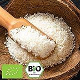 1000g Bio Kokosraspeln ungesüßt & ungeröstet / ideal fürs Müsli | 1 kg | in kompostierbarer Bio-Verpackung - Kokos-Raspeln fein Low-Carb Ernährung & vegan Kokosnuss | STAYUNG