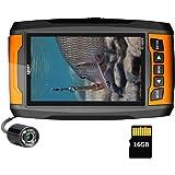 LUCKY Underwater Fishing Camera Cámara portátil de Alta resolución con buscador de Peces con Luces infrarrojas Cámara subacuá