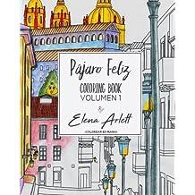 Pajaro feliz: Coloring book volumen1
