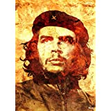 Printelligent Posters Original Quotes Decorative Che Guevara Poster With Size Of News Paper Size 14 Inch X 26 Inch And Great Designs High Quality Matte Finish 32 Micron Lamination Thick 300 Gsm Imported Paper Multi Colour Digital HD Printing Home And Offi