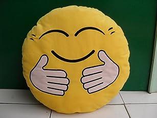 Skylofts 37cm Hug Me Tight Smiley Emoji Cushion Pillow Stuff Toy