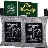 Air Purifying Bag, Activated Bamboo Charcoal - 200g x 2, Natural Air Freshener