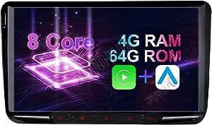 9 Android 10 0 4gb Ram 64gb Rom 8 Core Android Auto Carplay Dsp Autoradio Für Vw