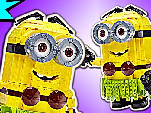 Clip: Luau Dave Build-A-Minion (Lego Jumbo-set)