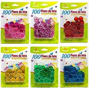 100 pions pour loto / bingo