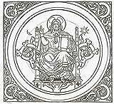 Ken Welsh / Design Pics - Detail Of Ceiling Mural Of Christ
