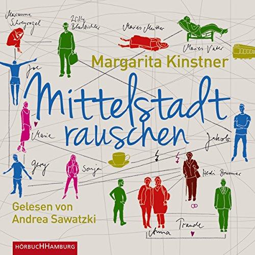 Buchseite und Rezensionen zu 'Mittelstadtrauschen' von Margarita Kinstner