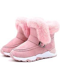 773aa0918aa99 Botas Medias Unisex de Niñas Niños Botas de Nieve Botas Niña Zapatos de  Bebé Invierno de