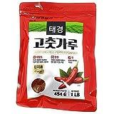 Korean Red Chili Pepper Flakes Powder Gochugaru (1 Lb) By Tae-kyung by Tae-kyung