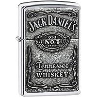 Zippo 1310011 Feuerzeug Jack Daniel's Label Chrome
