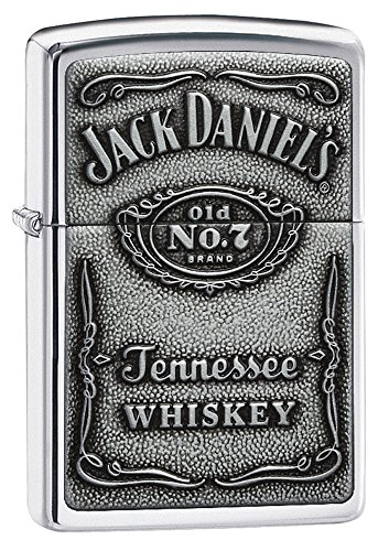 zippo-1310011-jack-daniels-label-chrome-mechero-con-relieve