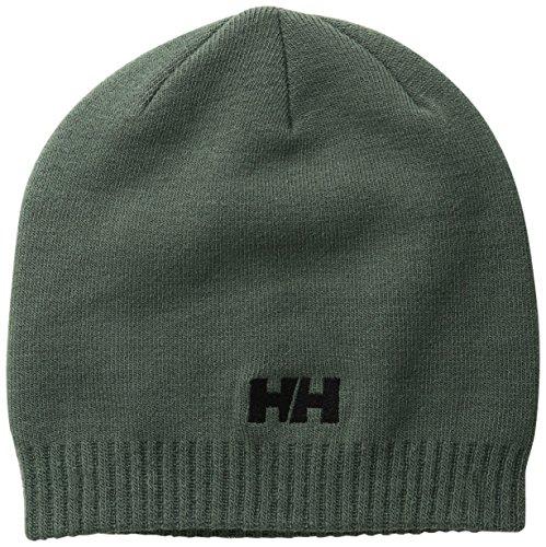 Helly Hansen Brand Beanie - Gorro para hombre, color gris, talla STD