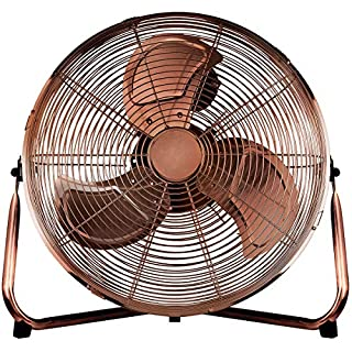 Status 14 Inch High Velocity Floor Fan - Copper