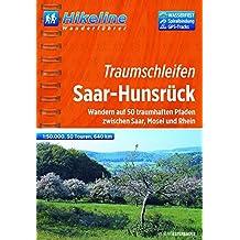 Hikeline Wanderführer Hunsrück,  Wandern auf 50 traumhaften Pfaden zwischen Saar, Mosel und Rhein, 1 : 50.000, 640 km, wasserfest und reißfest, GPS zum Download