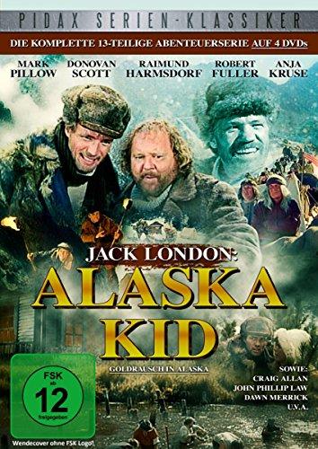 Bild von Jack London: Alaska Kid - Goldrausch in Alaska / Die komplette 13-teilige Abenteuerserie (Pidax Serien-Klassiker) [4 DVDs]