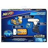 Hasbro Nerf B1535EU6 N-Strike Modulus Set-Geheimoperation, Spielzeugblaster-Zubehör, Blau