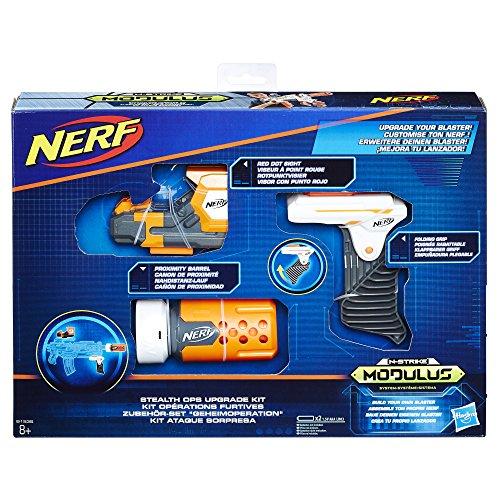 Hasbro Nerf b1535eu6N-Strike Modulus Set Accessori-Segreto Operation, Giocattolo Blaster di Accessori