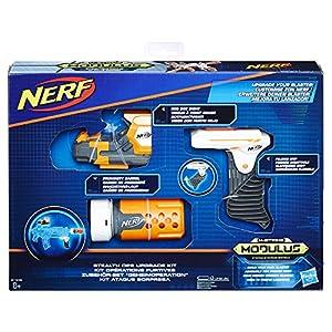 Hasbro Nerf b1535eu6N-Strike Modulus-Set de Accesorios Secreto Teclas, Juguete Blaster de Accesorios