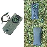 JTENG trinkblase Trinkbeutel 2L Wasser Blasen Beutel, Wasserbehälter für Trinkrucksack Ideal für alle Aktivitäten, wie Radfahren, Wandern, Laufen, Camping -
