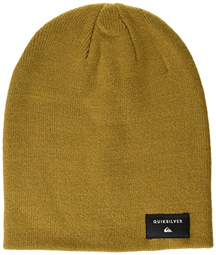 Quiksilver Herren Cushy Slouch-Beanie For Men, Rubber-Solid, One Size