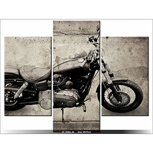 Art Gallery XXL, 70 x 90 cm-HARLEY-DAVIDSON Genuine-Tabelle MULTI-Panel-DESIGN-DECO-NEW DESIGN (Harley Davidson Tabelle)
