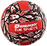 Schildkröt Funsports 970075 Neoprene Mini-Beachvolleyball Größe 3 (18,2 cm), schwarz
