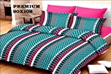 SurprizeMe Cotton Geometric Double Bedsh...