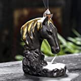 NEW HAND MADE POLYRESIN HORSE FIGURINE STATUE ORNAMENT GIFT SET ESTEE COLLECTION