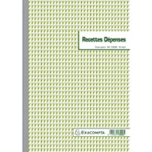 Exacompta Revenue Expenditure, A4, Vertical, Duplicate Carbonless Copy, 50 Pages (French Printed)