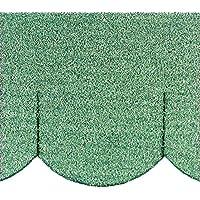 "Mini - Dachschindeln Biberschwanz (100 mm) - Grün"" 23.421 ""Mini Dachschindel"