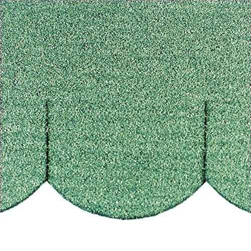 Mini – Tuiles alsacien (100 mm) – Vert   0d7babce57be