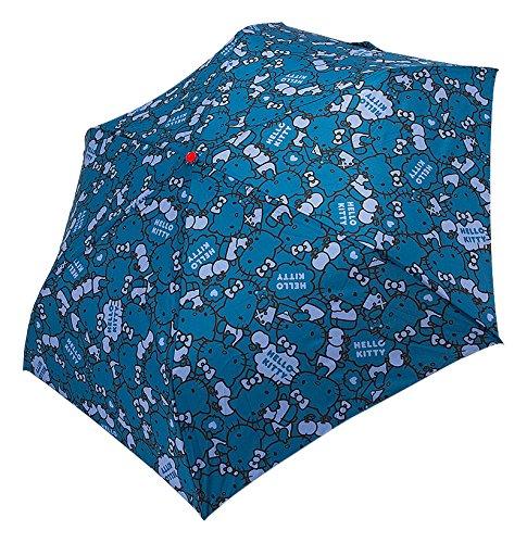 Hello Kitty folding umbrella navy