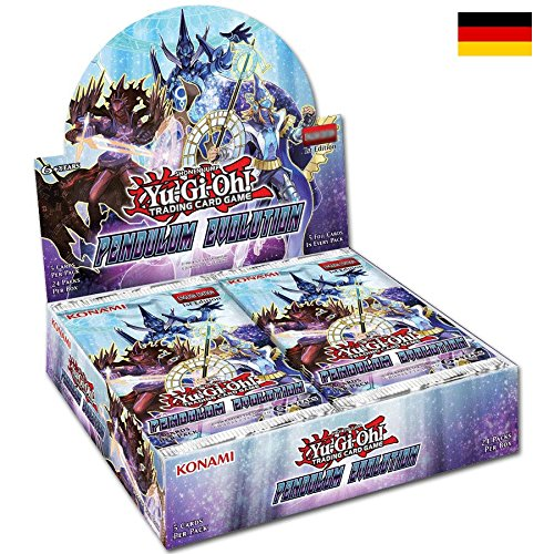 Yugioh! Pendulum Evolution Display Deutsch (Yu-gi-oh Pendulum Monster)