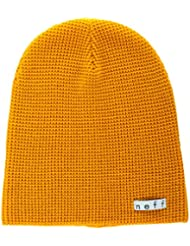 Neff Mütze Quill - Gorro de esquí para hombre, color mostaza, talla L/XL