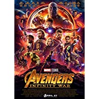 Avengers Infinity War Poster Borderless Vibrant Premium Glossy Movie Poster Various Sizes (A1 Size 33.1 x 23.4 Inch / 841 x 594 mm)
