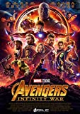 Avengers Infinity War Poster Borderless Vibrant Premium Glossy Movie Poster Various Sizes (A3 Size 16.5 x 11.7 Inch / 420 x 297 mm)