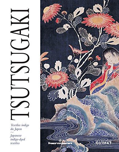 Tsutsugaki: Japanese indigo-dyed textiles (English version)