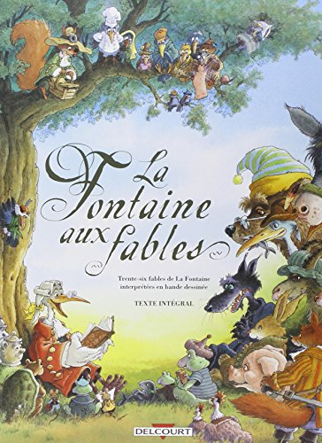 La Fontaine aux fables, Comic