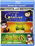 Pack Estudio Laika: Coraline + ParaNorman + Boxtrolls [Blu-ray]