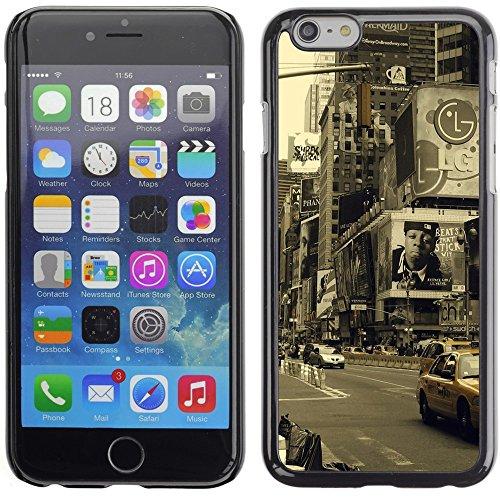 Graphic4You New York City Tilt Shift Postkarte Ansichtskarte Design Harte Hülle Case Tasche Schutzhülle für Apple iPhone 6 Plus / 6S Plus Design #9