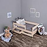 KAGU Kinderbett Jugendbett Juniorbett Bett 140 x 70 cm oder 160 x 80 cm  mit Bettkasten und...