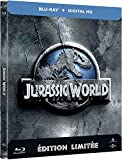 Jurassic World (Edition limitee Steelbook) - Combo Blu-ray + Copie digitale [Blu-ray] [Blu-ray + Copie digitale - Édition boîtier SteelBook] [Import italien]
