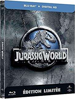 Jurassic World (Edition limitee Steelbook) - Combo Blu-ray + Copie digitale [Blu-ray] [Blu-ray + Copie digitale - Édition boîtier SteelBook] (B00Z6FKNMY) | Amazon price tracker / tracking, Amazon price history charts, Amazon price watches, Amazon price drop alerts