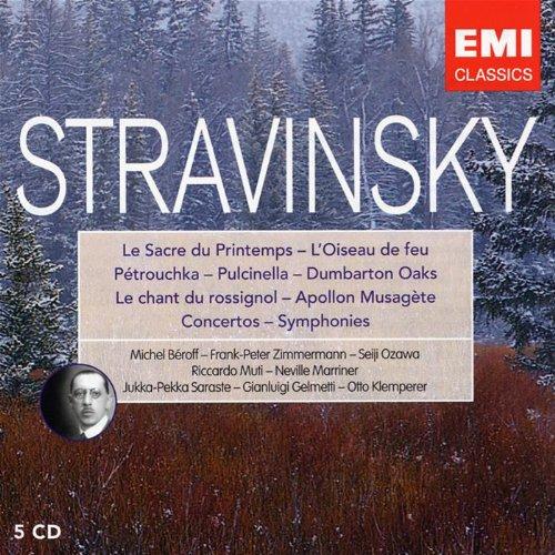 Stravinsky : Ballets et Musique Symphonique (Coffret 5 CD)