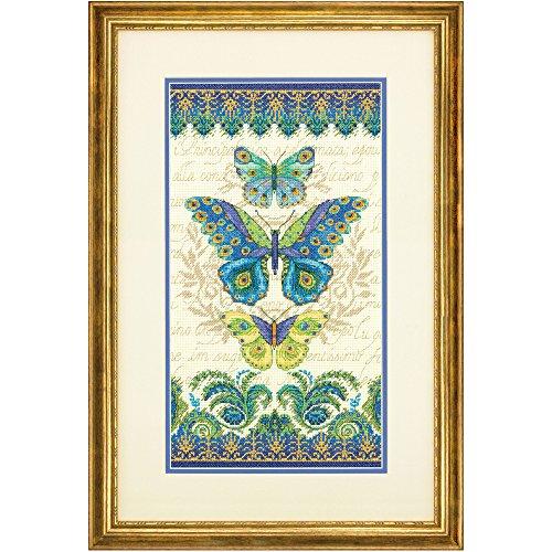 Dimensions Gezählter Kreuzstick Set, Peacock Butterflies -