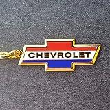 Chevrolet Schlüsselanhänger Keyring Bel Air Corvette Camaro El Camino Impala Gold